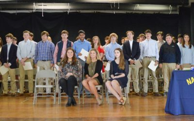NHS and NJHS Inductions