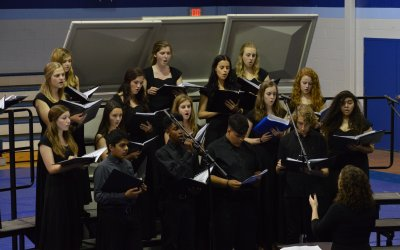 Houston Academy's Music and Drama departments receive superior ratings