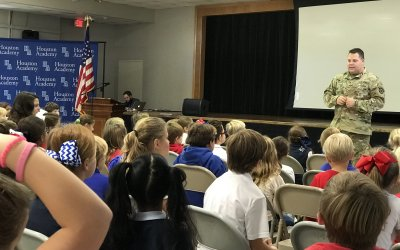 Lower School hosts assembly paying tribute to nation's veterans