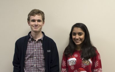 Two Houston Academy students selected for 2018 Alabama All State Choir Festival