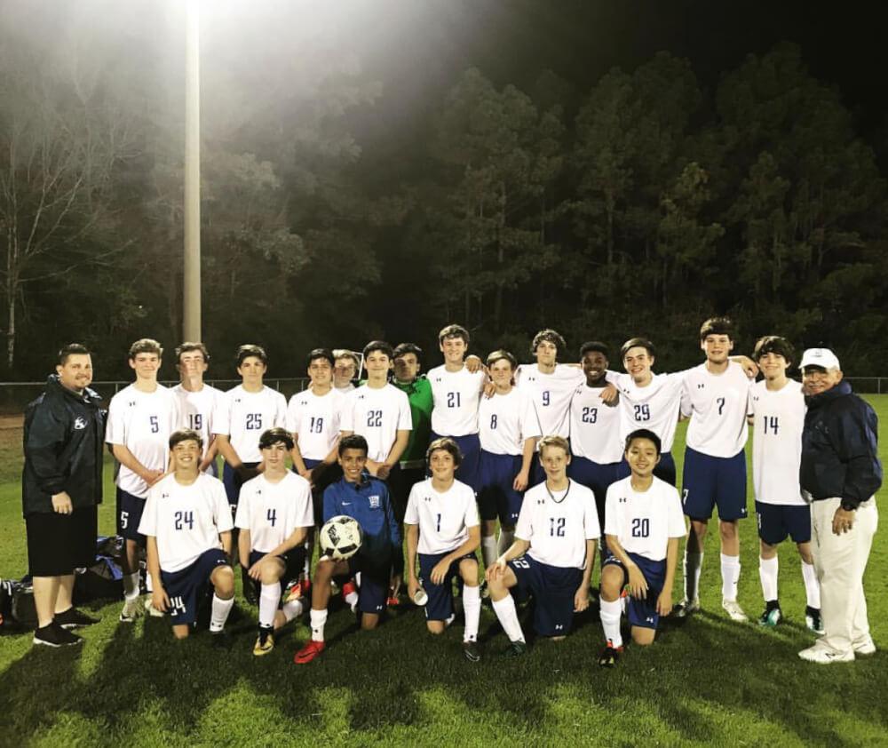 JV Boys Soccer beats Providence 3-2