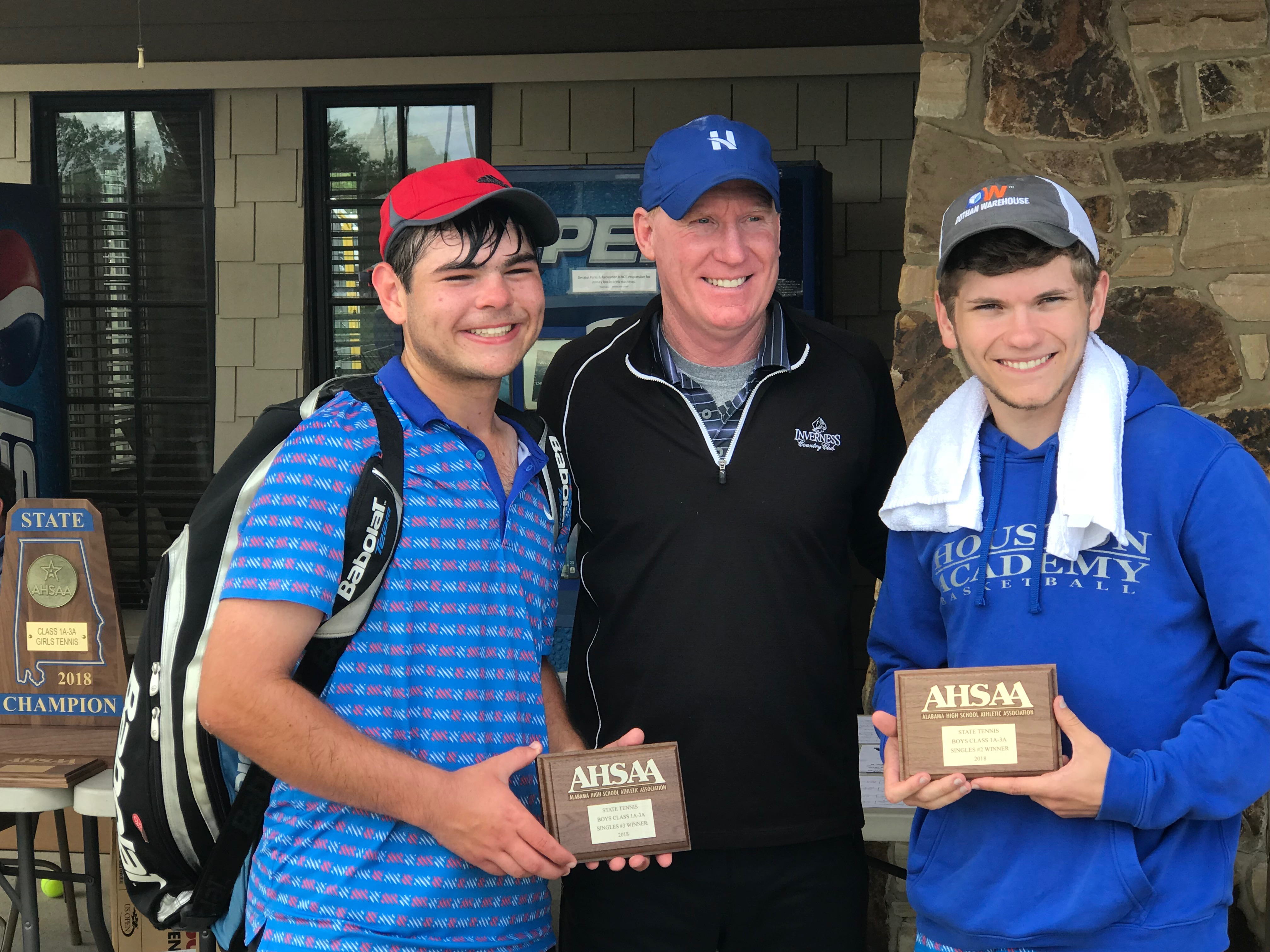 Houston Academy Raiders claim state tennis singles titles, Class 1A-3A at the #2, #3 and #4 spots