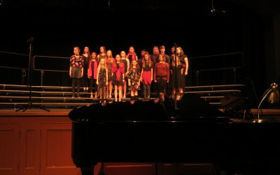 Houston Academy Choir and Soloists receive Superior ratings and first place at Peanut Fest Competition