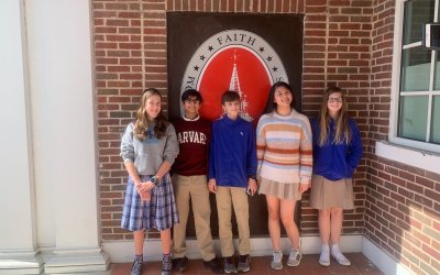 HA middle school places 4th in the State Scholars' Bowl competition!