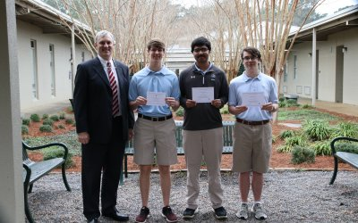 Three Houston Academy Seniors recognized by National Merit Scholarship Program