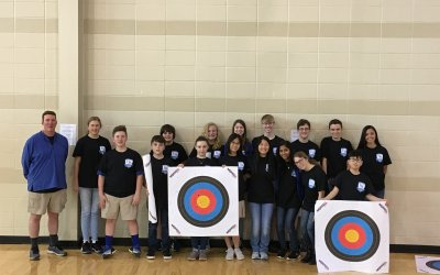 Houston Academy Archery Club competed in the Alabama NASP Regional Archery Tournament