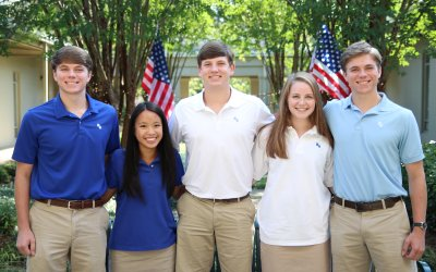 Five Houston Academy students earned semi-finalists out of 16,000 chosen out of the 1.5 million 2020 class members who entered the competition for the National Merit Scholarship Program