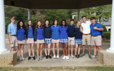 Eleven Houston Academy students earn Youth Leadership Dothan honors