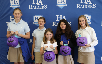 NJHS Raider of the Quarter (1st); Middle School students recognized