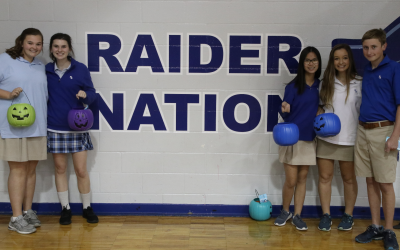 NJHS Raider of the Quarter (1st); Upper School students recognized