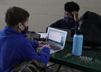 Each student receives a Macbook