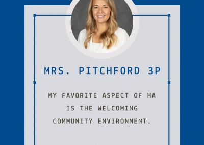 Mrs. Pitchford