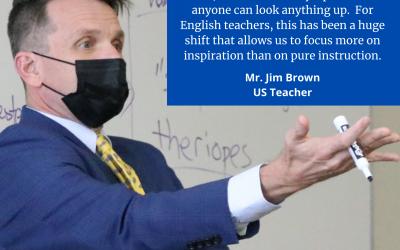 Teacher Tuesday Spotlight: Mr. Jim Brown
