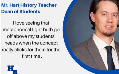 Teacher Tuesday Spotlight: Mr. Brian Hart